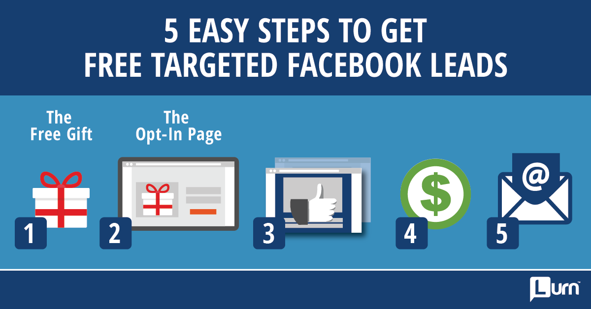 Free Targeted Facebook Leads - Step 2 The Opt-In Page