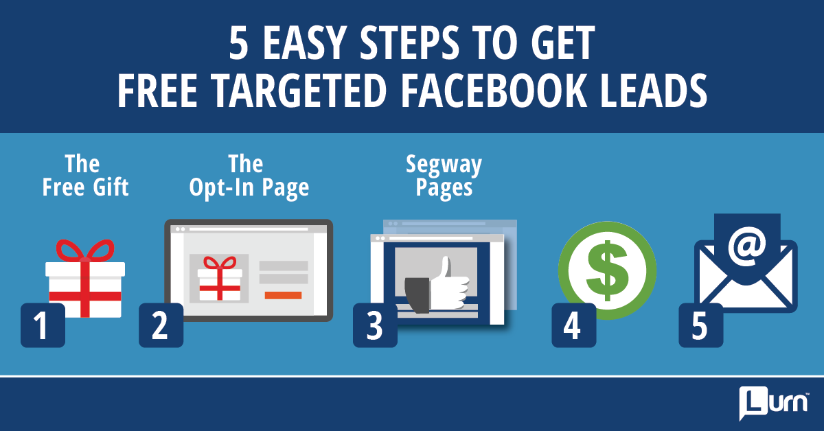 Free Targeted Facebook Leads - Step 3 Segway Pages