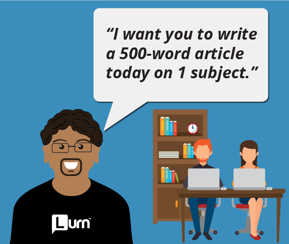 I want you to write a 500-word article today on 1 subject.