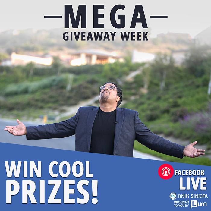 MEGA Giveaway Week