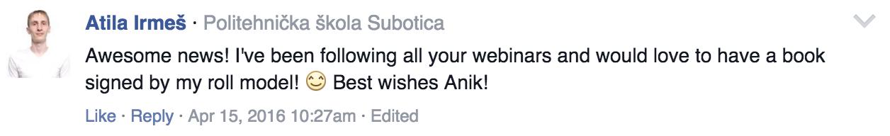 Atila's Comment