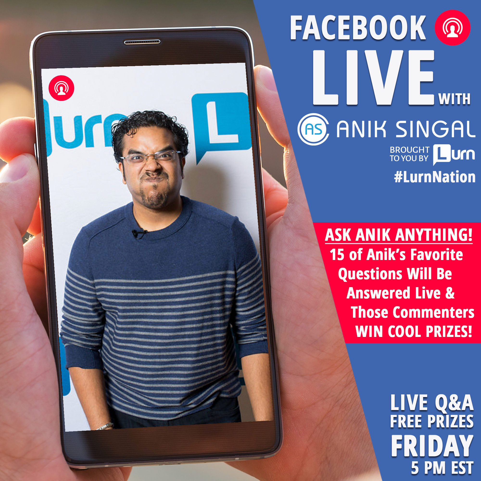Ask Anik Anything FB Live