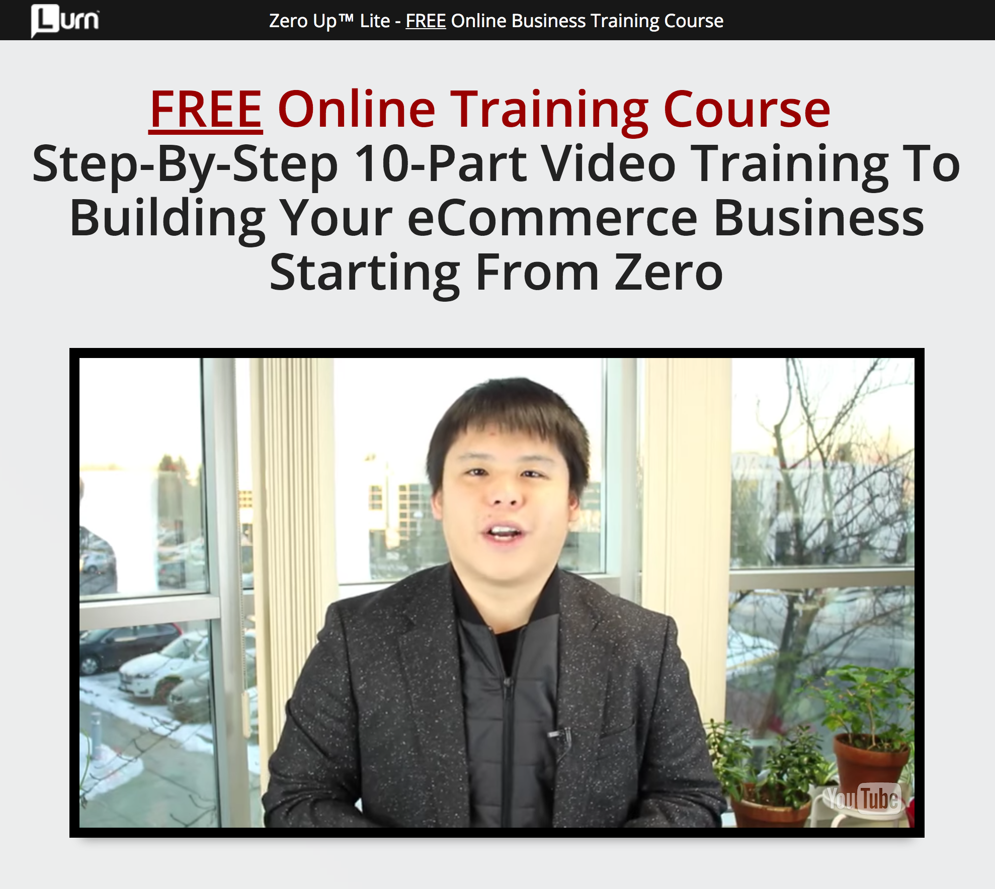 Fred Lam 10 Day eCommerce Training Video Course Free