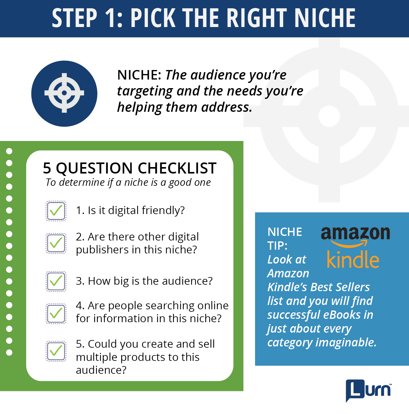 7 steps to turn your passion into profits by starting your own step 1 pick the right niche fandeluxe Choice Image