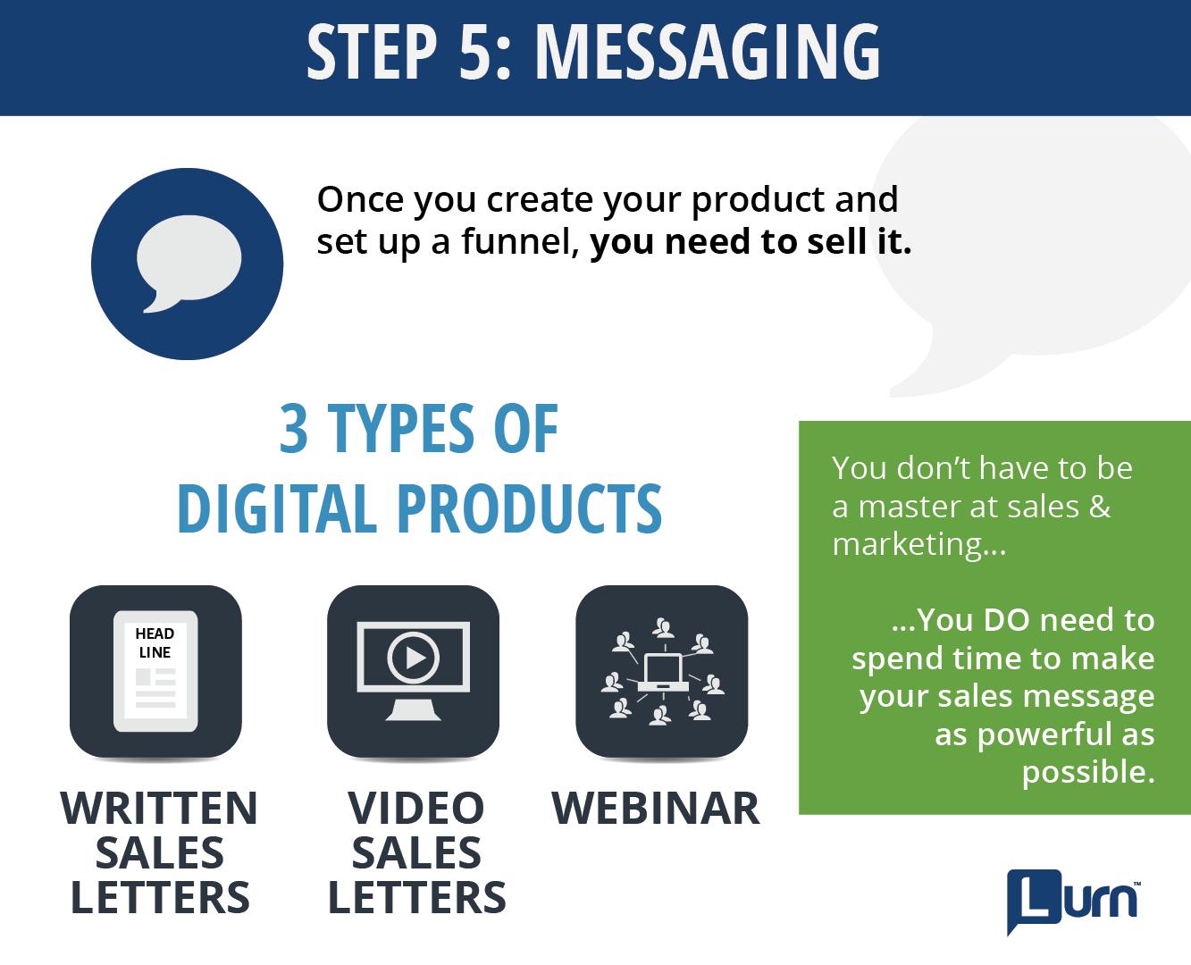 Step 5: Messaging To Convert