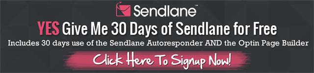 Sendlane Free 30-Day Trial