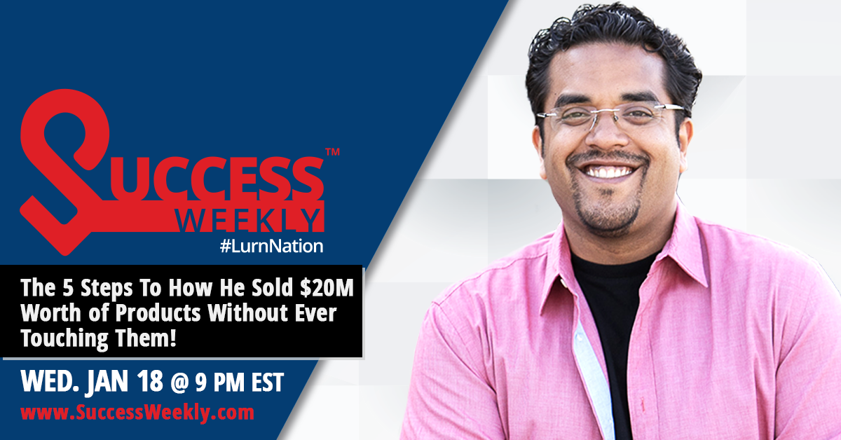 Join Us for #LurnNation Success Weekly eCommerce