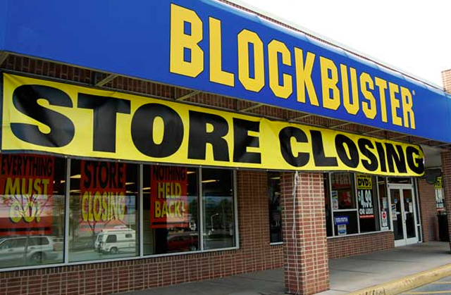Blockbuster Closing Bankruptcy