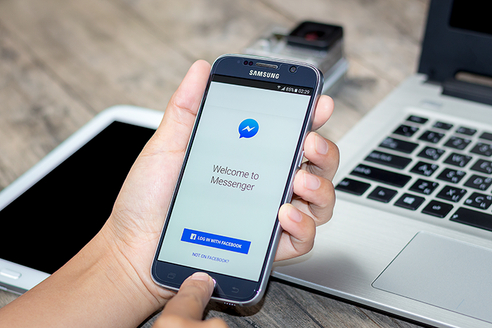 Facebook Messenger Welcome