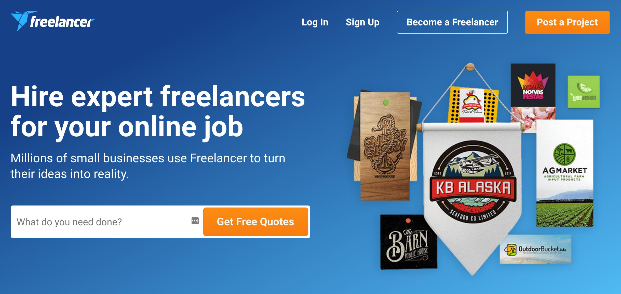 Freelancer Example