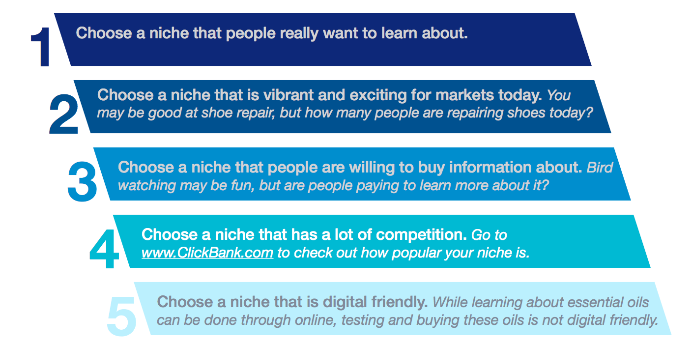 Niche 5-Point Checklist