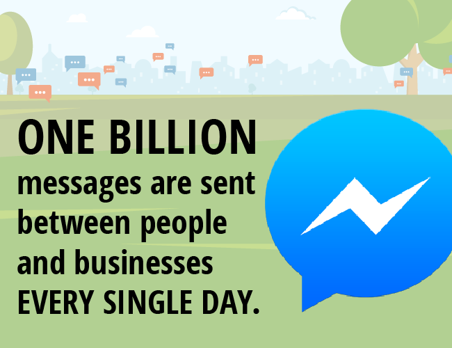 One Billion Messages Sent On Messenger Every Single Day
