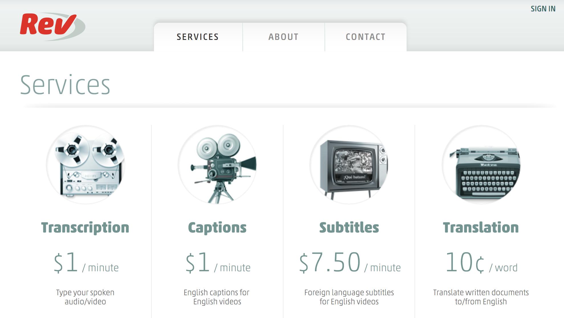 Rev.com Services