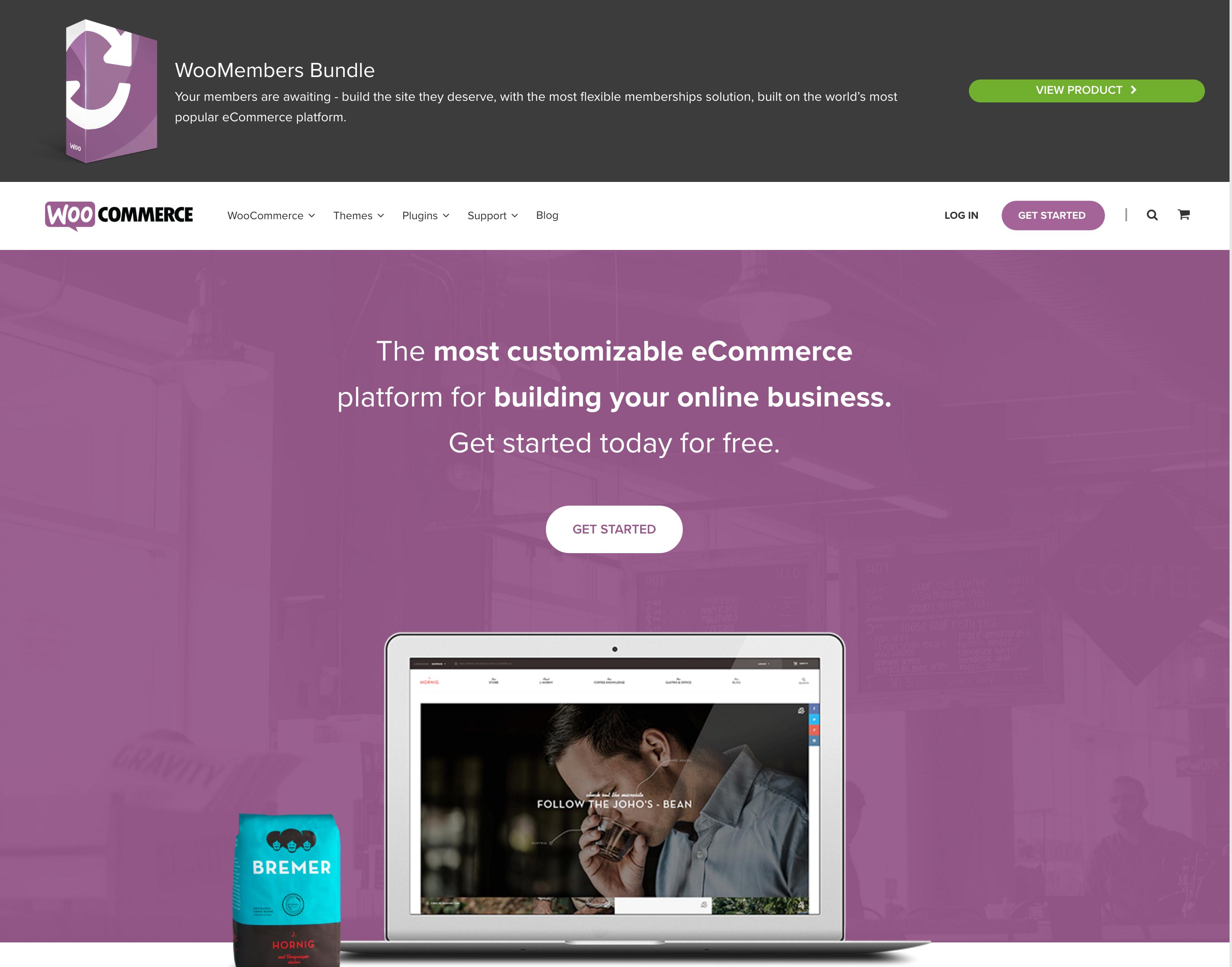 WooCommerce eCommerce Example